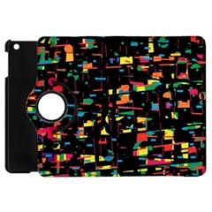 Playful colorful design Apple iPad Mini Flip 360 Case