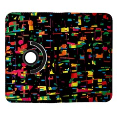 Playful colorful design Samsung Galaxy Note II Flip 360 Case