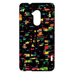 Playful colorful design HTC One Max (T6) Hardshell Case