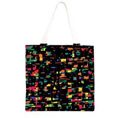 Playful colorful design Grocery Light Tote Bag