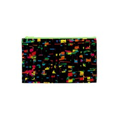 Playful colorful design Cosmetic Bag (XS)