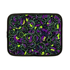 Purple and yellow decor Netbook Case (Small)