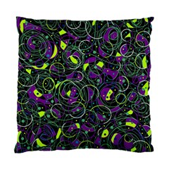 Purple and yellow decor Standard Cushion Case (Two Sides)