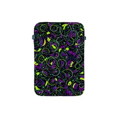 Purple and yellow decor Apple iPad Mini Protective Soft Cases