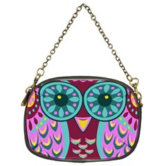 Owl Chain Purses (two Sides)