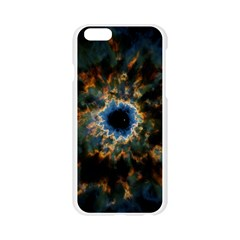 Crazy  Giant Galaxy Nebula Apple Seamless iPhone 6/6S Case (Transparent)