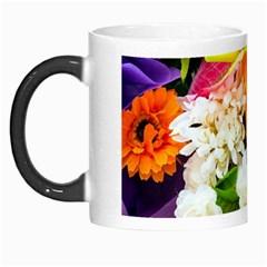 Colorful Flowers Morph Mugs