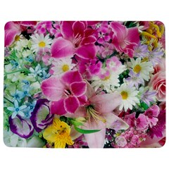 Colorful Flowers Patterns Jigsaw Puzzle Photo Stand (Rectangular)