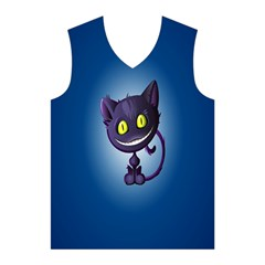 Cats Funny Men s Basketball Tank Top
