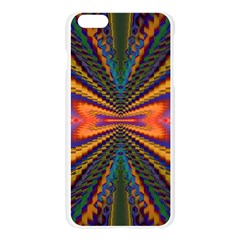 Casanova Abstract Art Colors Cool Druffix Flower Freaky Trippy Apple Seamless iPhone 6 Plus/6S Plus Case (Transparent)
