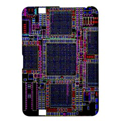 Cad Technology Circuit Board Layout Pattern Kindle Fire HD 8.9