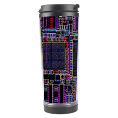 Cad Technology Circuit Board Layout Pattern Travel Tumbler