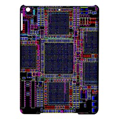 Cad Technology Circuit Board Layout Pattern iPad Air Hardshell Cases