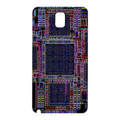 Cad Technology Circuit Board Layout Pattern Samsung Galaxy Note 3 N9005 Hardshell Back Case