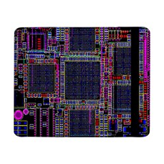 Cad Technology Circuit Board Layout Pattern Samsung Galaxy Tab Pro 8.4  Flip Case
