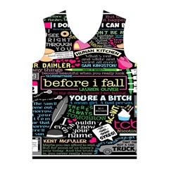Book Collage For Before I Fall Men s Basketball Tank Top