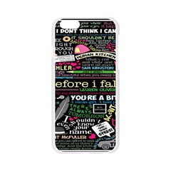 Book Collage For Before I Fall Apple Seamless iPhone 6/6S Case (Transparent)