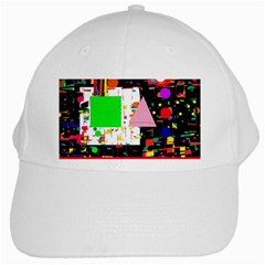 Colorful facroty White Cap