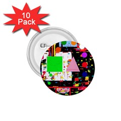 Colorful facroty 1.75  Buttons (10 pack)