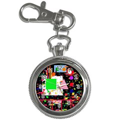 Colorful facroty Key Chain Watches