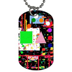 Colorful facroty Dog Tag (Two Sides)