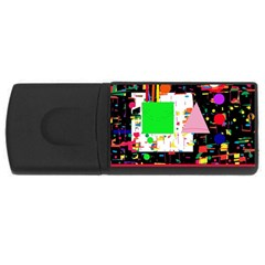 Colorful facroty USB Flash Drive Rectangular (2 GB)