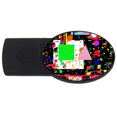 Colorful facroty USB Flash Drive Oval (4 GB)