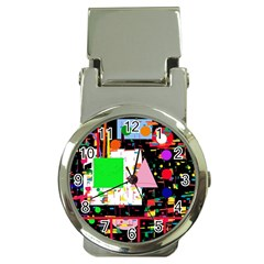 Colorful facroty Money Clip Watches