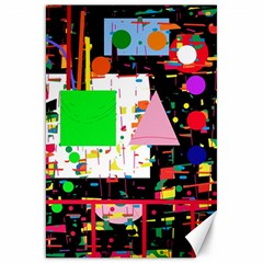 Colorful facroty Canvas 20  x 30