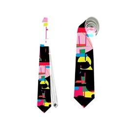 Colorful facroty Neckties (Two Side)
