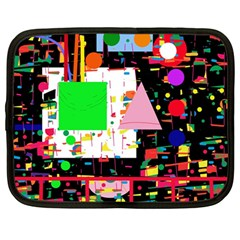 Colorful facroty Netbook Case (Large)
