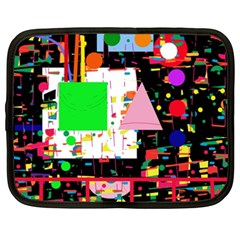 Colorful facroty Netbook Case (XXL)
