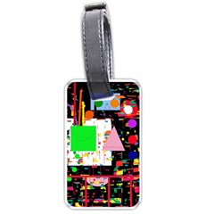 Colorful facroty Luggage Tags (One Side)