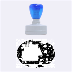 Colorful facroty Rubber Oval Stamps