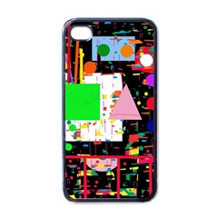 Colorful facroty Apple iPhone 4 Case (Black)
