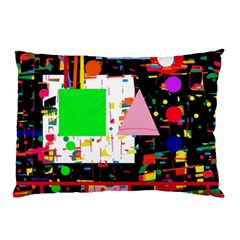 Colorful facroty Pillow Case (Two Sides)