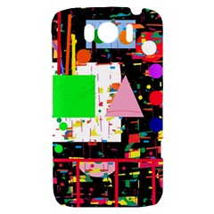 Colorful facroty HTC Sensation XL Hardshell Case