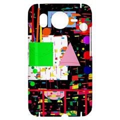 Colorful facroty HTC Desire HD Hardshell Case
