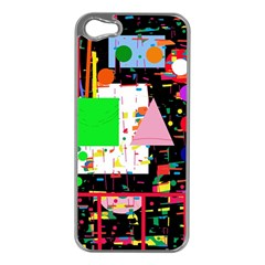 Colorful facroty Apple iPhone 5 Case (Silver)