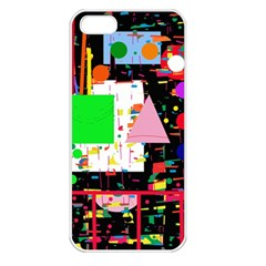 Colorful facroty Apple iPhone 5 Seamless Case (White)