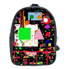 Colorful facroty School Bags (XL)