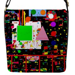 Colorful facroty Flap Messenger Bag (S)