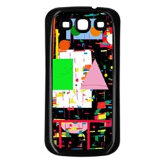 Colorful facroty Samsung Galaxy S3 Back Case (Black)