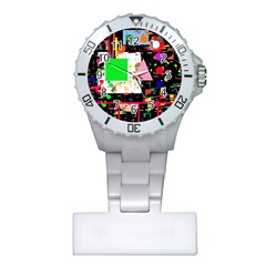 Colorful facroty Plastic Nurses Watch
