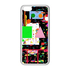 Colorful facroty Apple iPhone 5C Seamless Case (White)