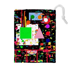 Colorful facroty Drawstring Pouches (Extra Large)