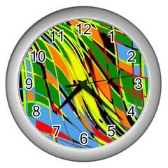 Jungle Wall Clocks (Silver)