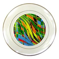 Jungle Porcelain Plates