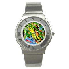 Jungle Stainless Steel Watch