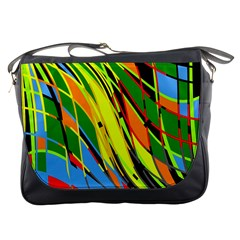 Jungle Messenger Bags
